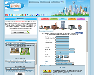 browsergames cityslife Rollenspiele / Action