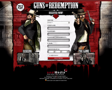 browsergames gunsofredemption Guns of Redemption