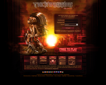 browsergames techwarrior Rollenspiele / Action